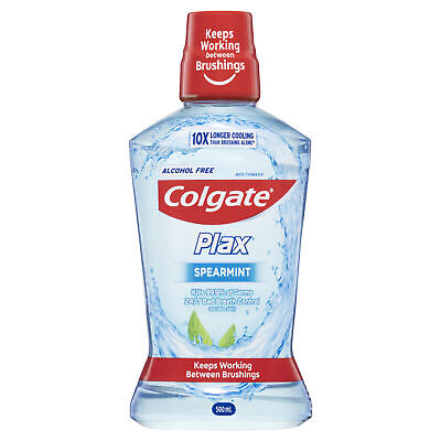Colgate Plax Spearmint Mouthwash 500ml