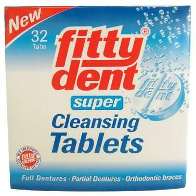 Fittydent Denture Cleaning Tablets 32  Oral Hygiene Care