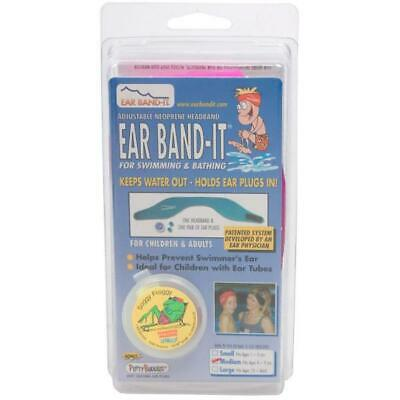 Ear Band-It With Ear Plug Medium Adjustable Kids Headband Ear Protector