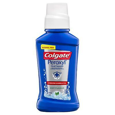 Colgate Peroxyl Rinse 236ml Oral Antiseptic Rinse Anti-Bacterial Mouthwash