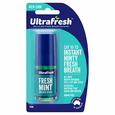 Ultrafresh Breath Spray Freshmint 12ml