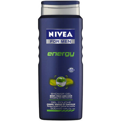 Nivea For Men Energy Shower Gel 500ml