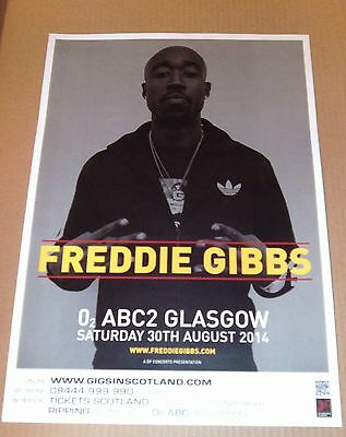 FREDDIE GIBBS - live music show band promotional tour concert gig poster