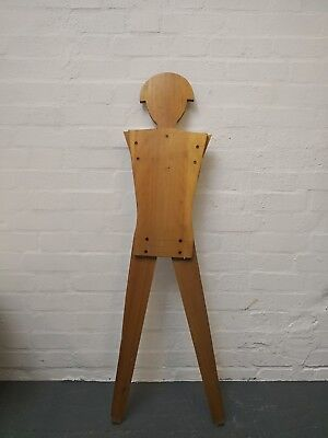 Vintage Mid Century Retro Wooden Rifle Range Target London - can deliver