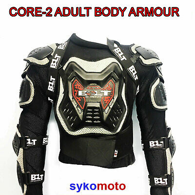 Bolt Core-2 Adult Body Protection Deflector Jacket Mx Enduro Ce Approved Armour