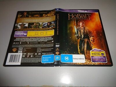 Hobbit - The Desolation of Smaug [Ultraviolet] (DVD, 2014)