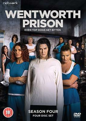 WENTWORTH PRISON the complete fourth season series 4. Four discs. New sealed DVD