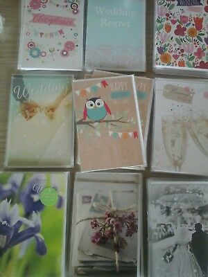 67 small cards, wholesale joblot greeting cards