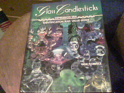 Glass Candlesticks of the Depression Era by Gene Florence   s1