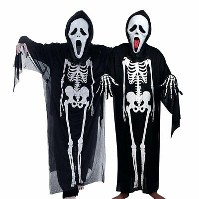 Skeleton Ghost Costume Masquerade Costume Halloween Costume F2