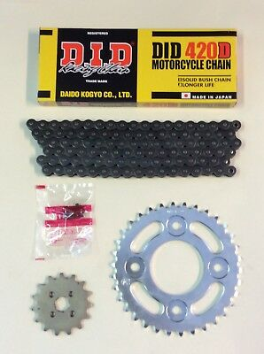DID Heavy Duty Drive Chain And JT Sprocket Kit For Honda MSX125 Grom 2013-2019