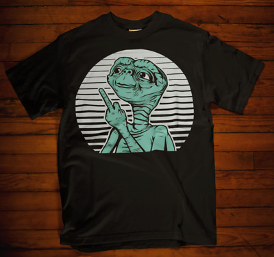 ET T-shirt movie alien ouch classic retro 80s kids bmx xmas gift fathers day 2
