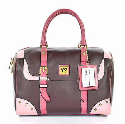 Borsa Donna Bauletto Ynot  Dream Dr05 Dark Brown Scontata 11cb5398673