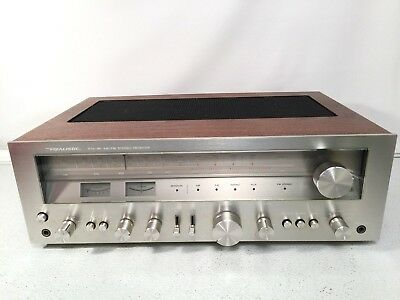 Realistic AM FM Stereo Receiver Vintage Tuner Model STA-95 Made In Japan BEAUTY
