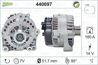 VALEO Lichtmaschine Generator LiMa Alternator REMANUFACTURED PREMIUM 440097 BMW
