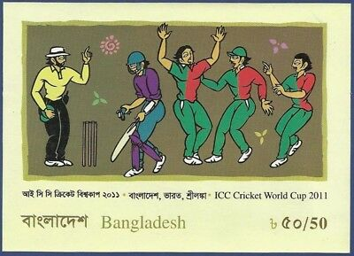 Bangladesh 2011 Mnh Icc Cricket World Cup Sports Sport Games