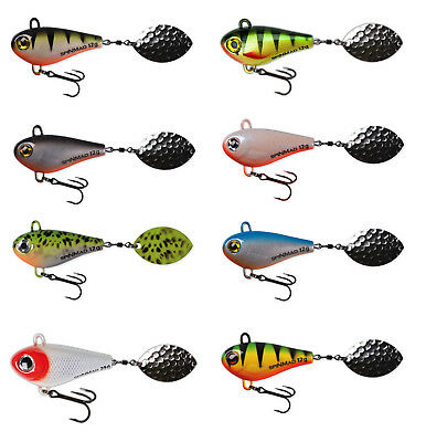SpinMad Jigmaster 8 & 12 & 24g Tail Spinner Rapfenblei