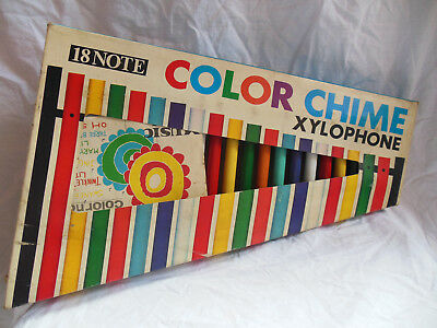 Altes Xylophon CX-18 Color Chime 18 Note