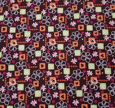 Wizard of Oz BTY Quilting Treasures Apple Trees Forest Brown