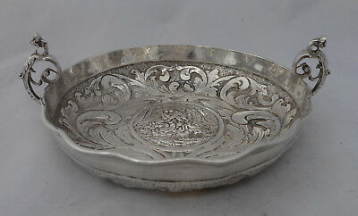 Antique German? 800 Grade Silver Wine Taster 186g A673717