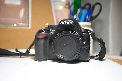 Nikon D D3100 14.2MP Digital SLR Camera - Black (Body Only)