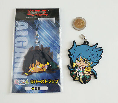 Yu-Gi-Oh! Keychain rubber phone strap Aigami Diva DSOD dark side of dimensions