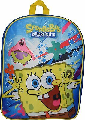 "Nickelodeon Sponge Bob 15"" School Bag Backpack"