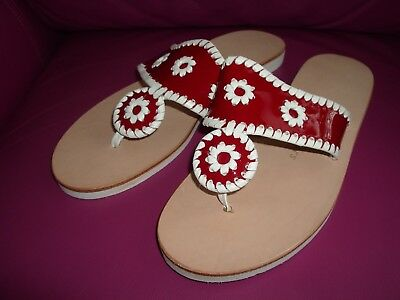 921f0e9332ea NEW JACK ROGERS Boating Jacks Red Sandals Size 8 Womens -  25.00 ...