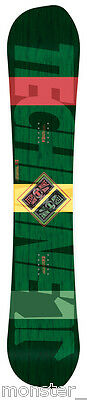 BRAND NEW IN PLASTIC Technine ELEMENTS HERITAGE Snowboard RASTA 149cm LIMITED DS