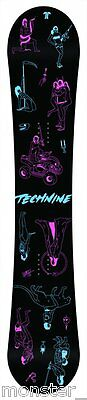 BRAND NEW IN PLASTIC Technine DWELLER Snowboard 145cm RARE LIMITED TECH9 DS16