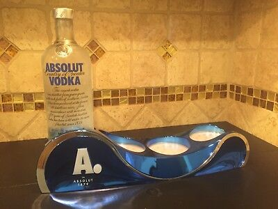 Absolut 4 Bottle Glorifier Display For Man Cave / Bar
