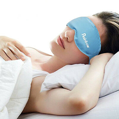 Gel Eye Mask Hot & Cold Compress Reusable Sleeping Mask with Strap for Puffy Eye