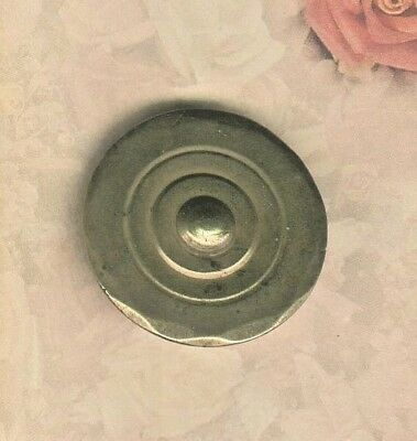 18th Century Scarce Raised Target Design Tombac Button