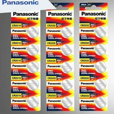 15Pcs original brand new battery for PANASONIC cr2032 cr 2025 cr2016 3v button c