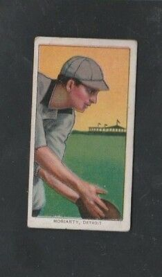 1909-1911 Piedmont T206 Tobacco Baseball Card George Moriarity - Tigers - Vg/ex