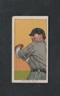 1909-1911 Sweet Caporal T206 Tobacco Baseball Card Ed Willett(S) - Tigers Vg/ex