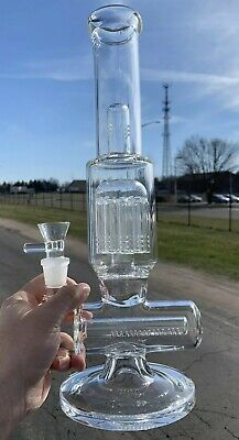 Glass water pipe bong hookah Rig 18 Inch