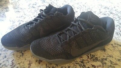 e88b11dd36c ... ebay nike kobe 11 xi elite low black space mamba triple black 58ca8  25cd7