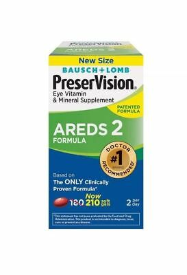 Bausch & Lomb Preservision Areds 2 Formule Supplément (210 Ct)