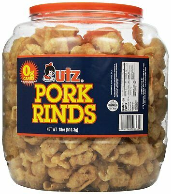 Utz Pork Rind Barrel (18 oz