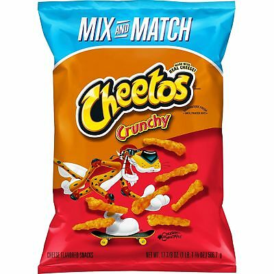 Cheetos Crunchy Cheese Flavored Snacks (17.875 oz