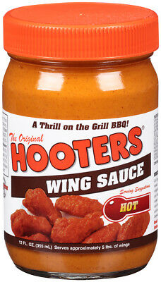 Hooters Wing Sauce HOT 12 fl oz 355ml