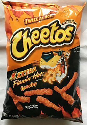 Cheetos XXTRA Flamin HOT Crunchy 8.5 oz (Pack of 3)