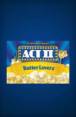 Act II Butter Lovers Microwave Popcorn (3 oz 30 bags)