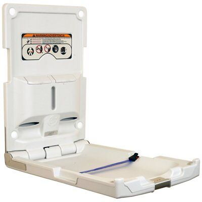 Foundations Vertical Polyethylene Wall Mount Changing Station