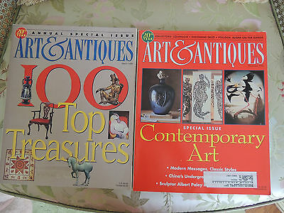 The  Art & Antiques Magazine MARCH,  December 1998