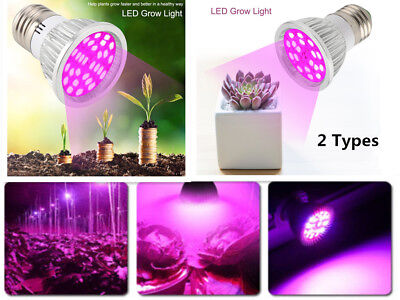 6W 18/28 LED Grow Light E27 Growing Bulb Lamp for Plant Hydroponic Full Spectrum