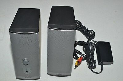 Bose Companion 2 Series II Multimedia Desktop Computer Speakers