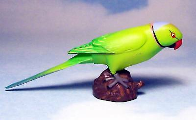 Kaiyodo Choco Q Animatales part 6 Rose ringed parakeet figure US seller New