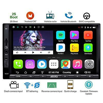 ATOTO A6 2DIN Android Car GPS navi Radio/A6Y2721PB/Fast Boot /Dual Bluetooth
